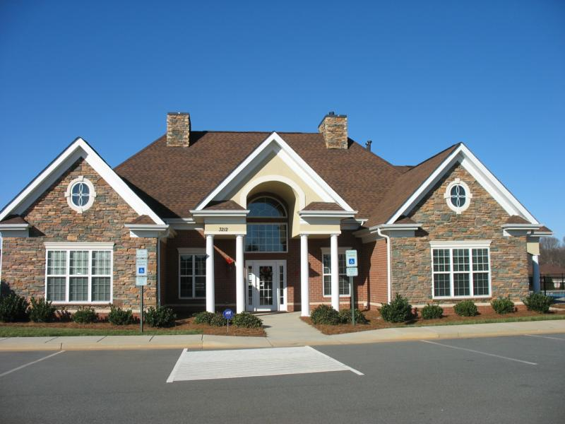 Clubhouse at St Andrews in Matthews NC