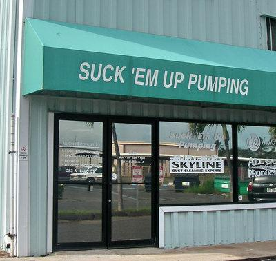 suckem up pumping cesspool pumping on maui hawaii