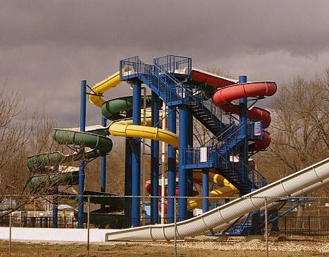 Waterslides galore at Cameron Run Regional Park