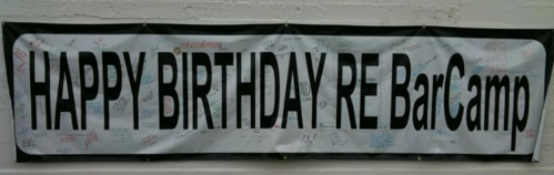 Happy Birthday REBarCamp
