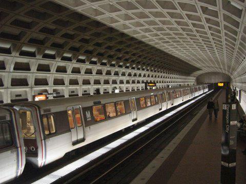Pentagon City metro stop