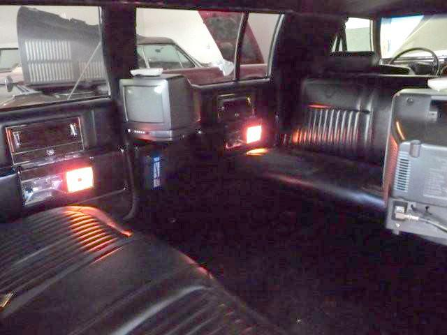 Limo Interior with TVs