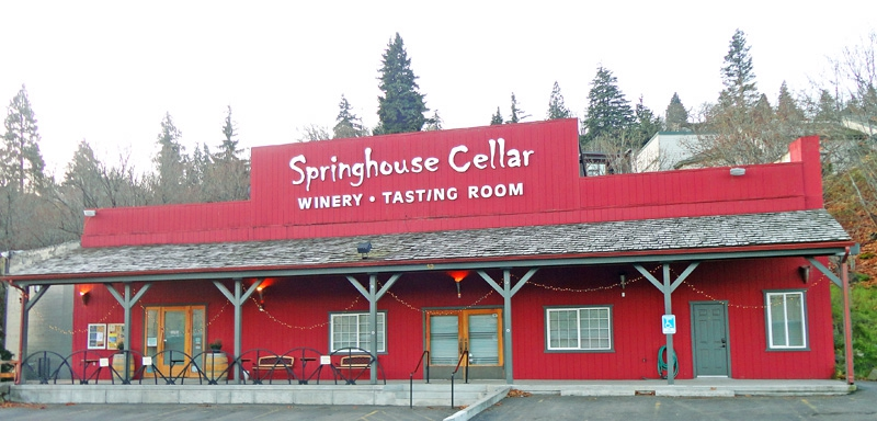Springhouse Cellars  sc 1 st  ActiveRain & A Taste Of The Columbia River Gorge at the Springhouse Cellar Winery ...