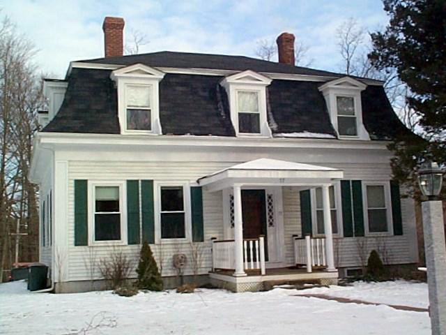 At home in greenland new hampshire for Mansard style homes