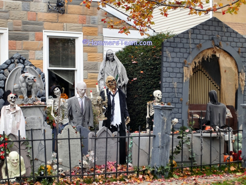 Bergen County NJ Halloween House