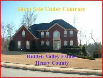 Henry County Short Sale Under Contract