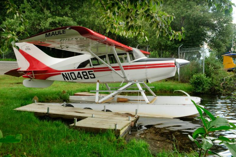 Bush Plane at Lake Hood