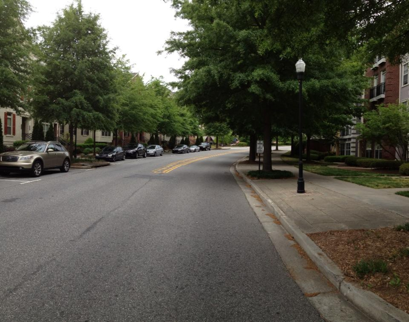 streets at the enclave at milton park