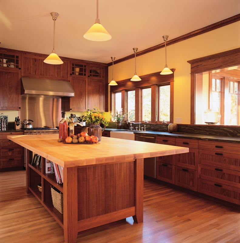 Hardwood flooring in kitchen westchester NY