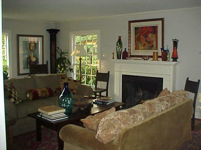 transformation of an ordinary living room to spectacular