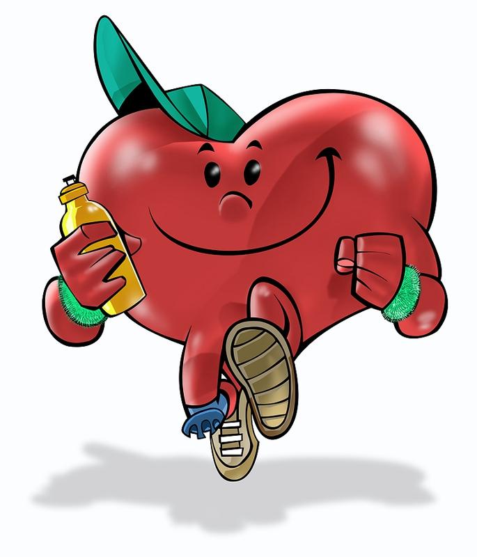 Healthy Heart Cartoon