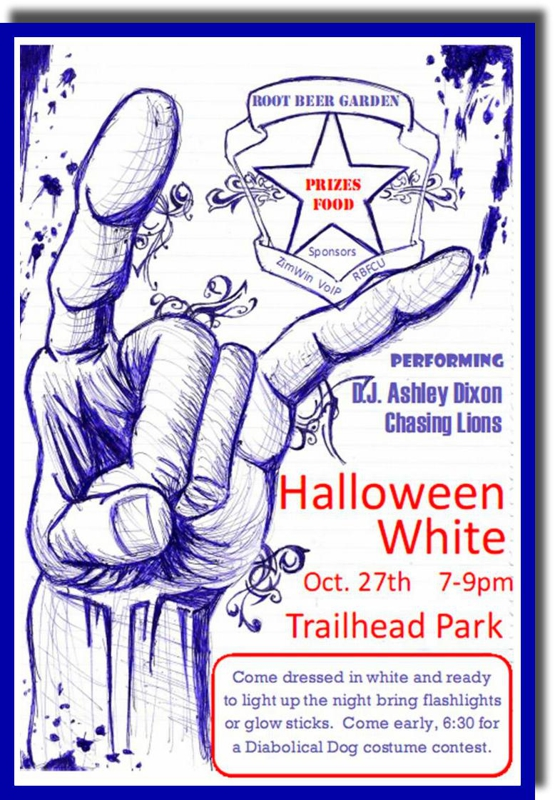 Halloween White 7-9pm