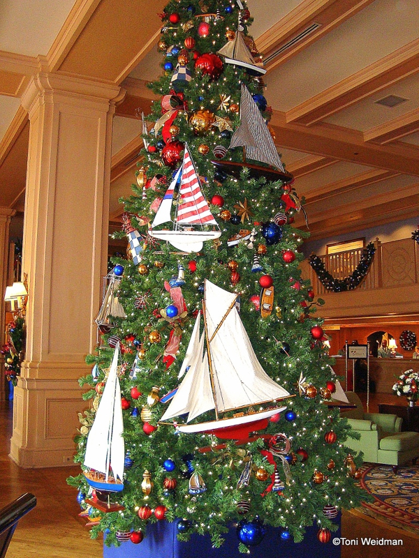 Christmas Trees of Disney Orlando