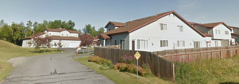 Tudor Townhomes in East Anchorage AK