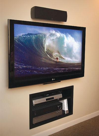 wall mounted televisions