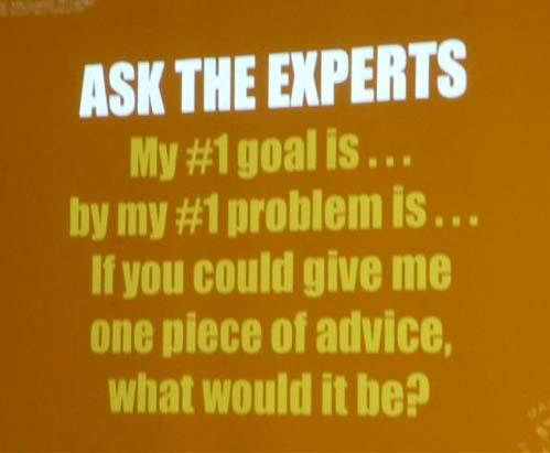 Slide -Ask the Experts