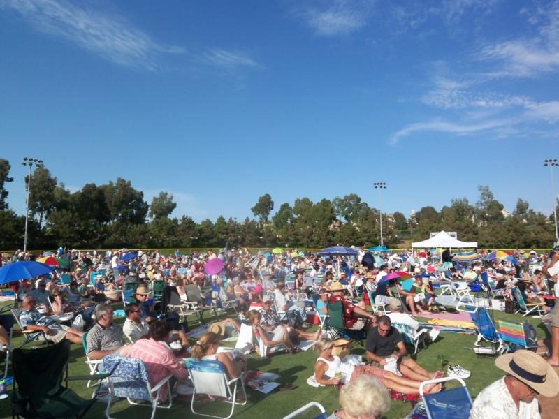 Jazz in the Park series in Carlsbad 2007