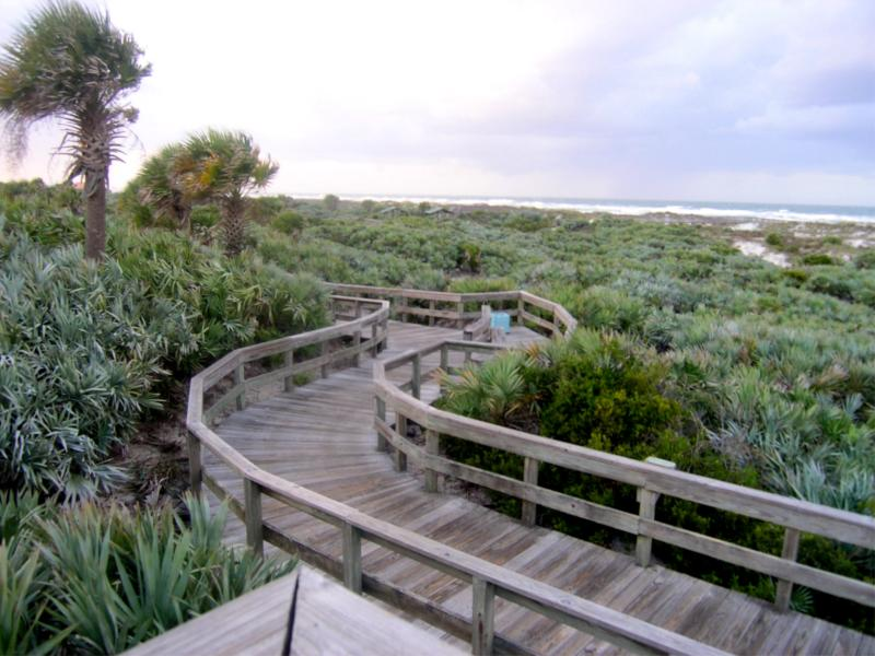 Ponce Inlet park and sand dunes