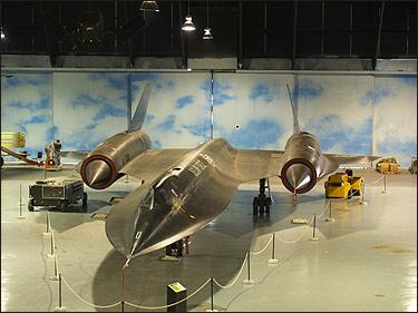 Museum of Aviation, Warner Robins GA - SR-71