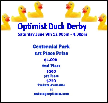 Uxbridge Optimist Duck Derby