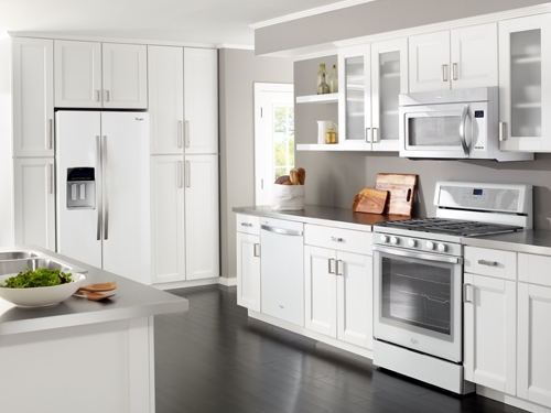 stainless steel appliances or something new? ice whitewhirlpool