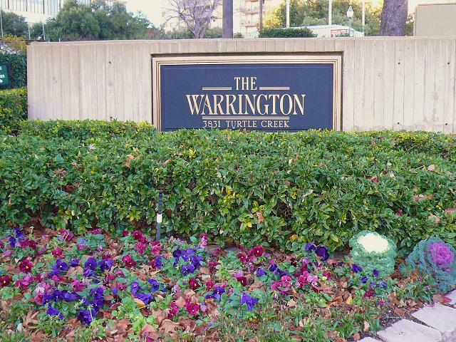 Dallas Condos: The Warrington