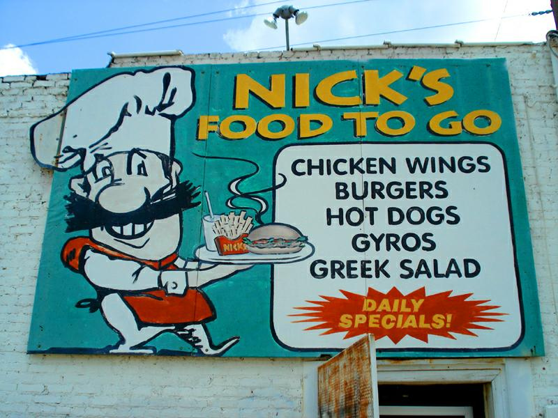 Sally English at Nicks to go restaurant
