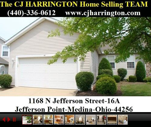 Cleveland Real Estate-1168 N Jefferson St 16A-Jefferson Pointe-(Medina, Ohio 44256)...Call (440)336-0612 or Visit WWW.CJHARRINGTON.COM