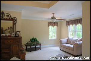 Raleigh Custom Homes - Two Master Bedrooms