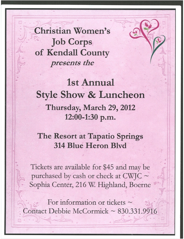 Christian Women's Job Corp Fundraiser