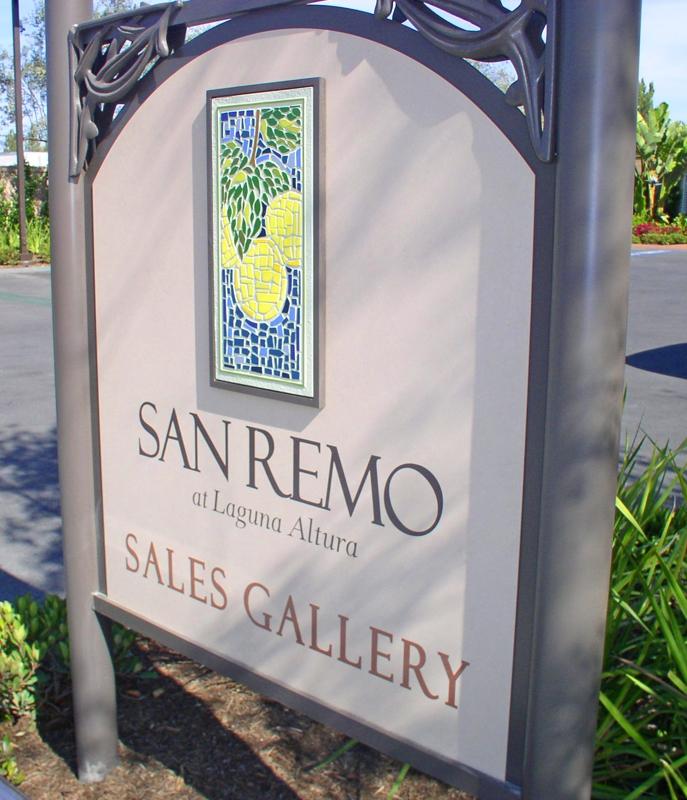 San Remo homes sign