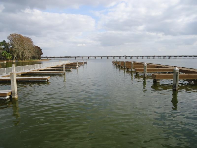 Lake Harris Boat Slips