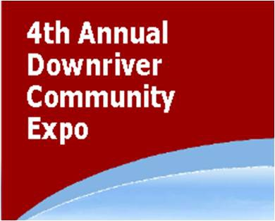 The 4th Annual Downriver Community Expo will be at the Woodhaven Community Center on Saturday, 9/8/12.