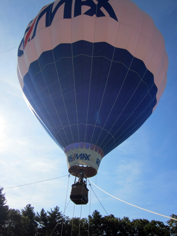 Remax Balloon at Franklin MA Middle School