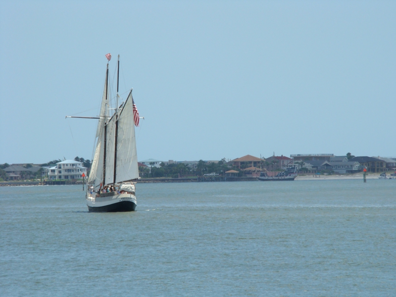 Ship at St Augustine Florida