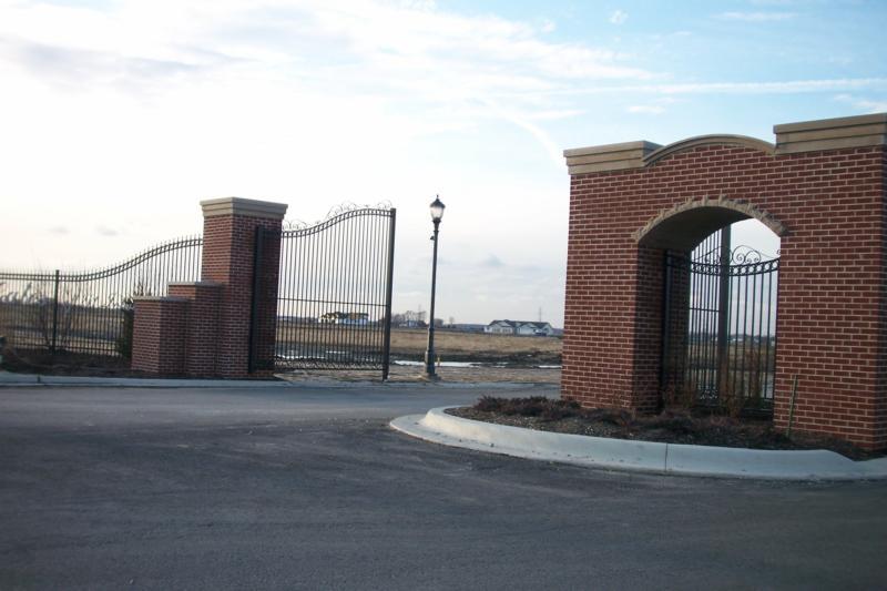 Gates Of St John Indiana Under Construction