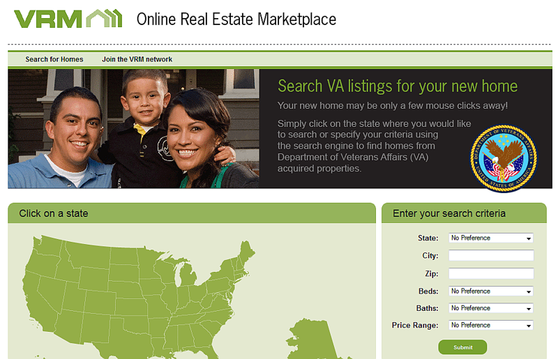 Foreclosures and Government Owned - VA