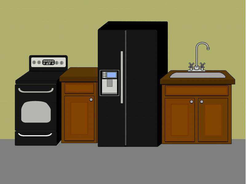 appliances in a home