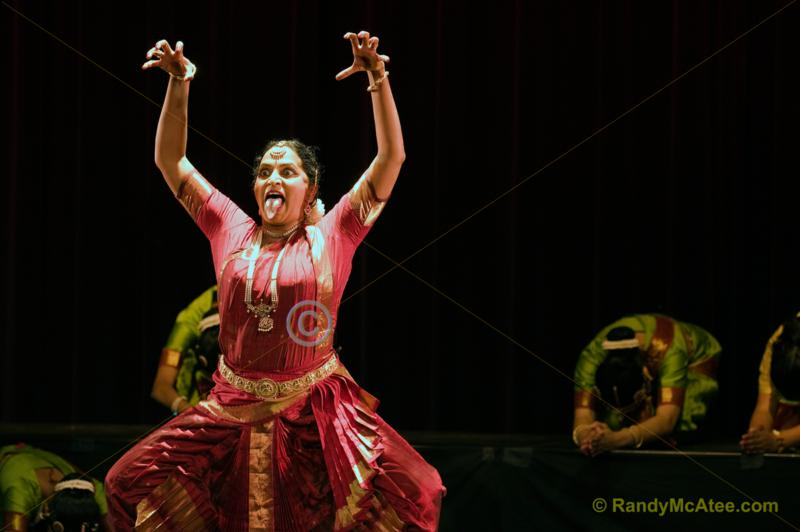 The  Tarangini-Indian Dance Ballet performs in Fresno California