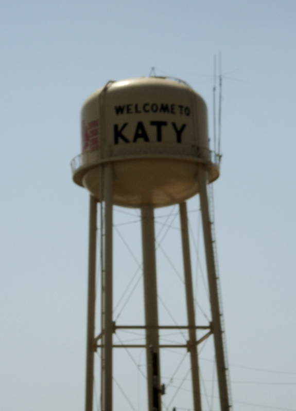 Water Tower in Old Katy Texas