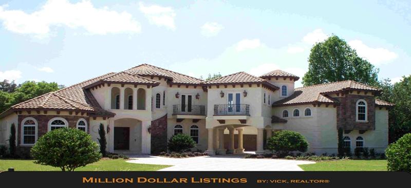 Million dollar listing orlando for Designer homes of central florida