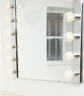 make up mirror out of date in home