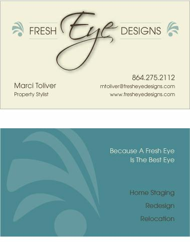Home Staging Business Cards | Arts - Arts on
