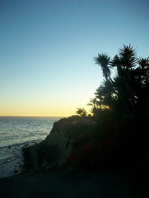 Lunada Bay Sunset in Palos Verdes