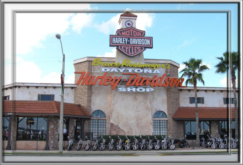 Harley Davidson Motorcycles in Daytona Beach FL