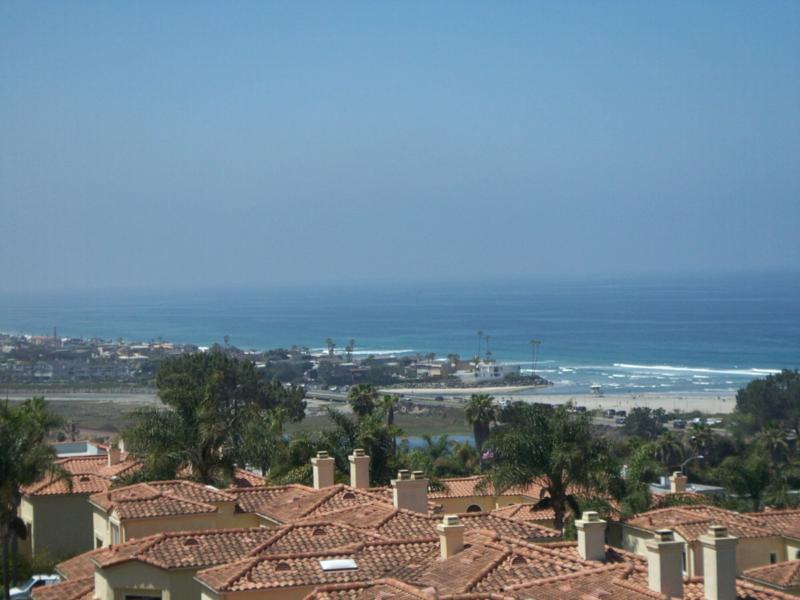 Views from the hills in Solana Beach