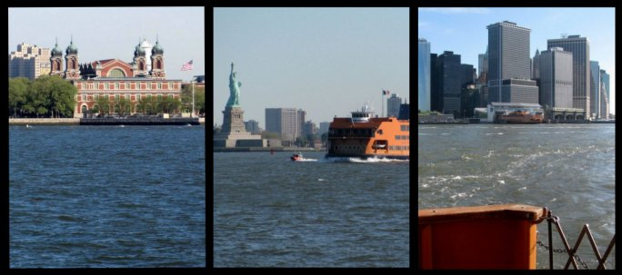 views from the staten island ferry