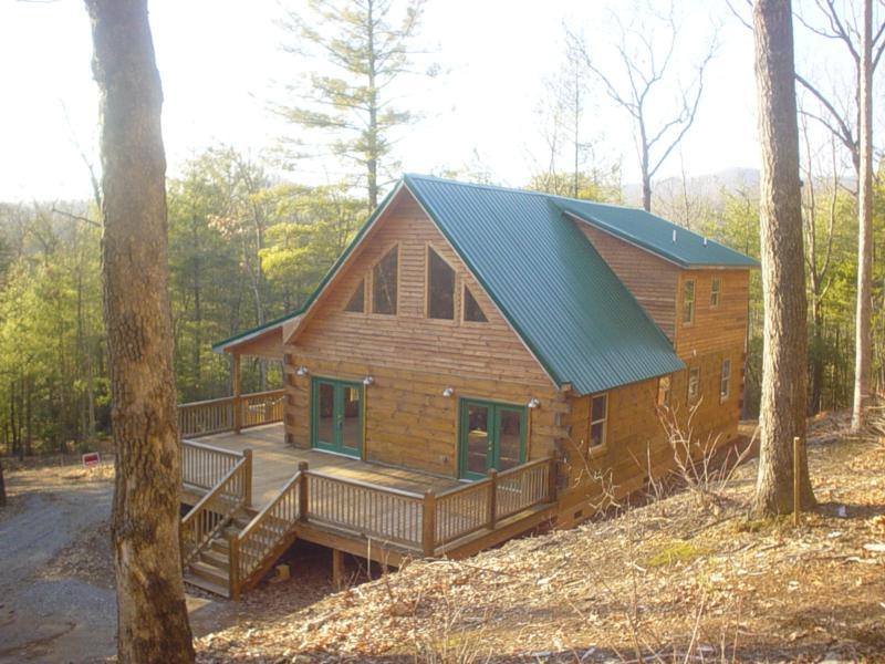 Daniel boone log cabin in murphy nc for Daniel boone national forest cabins