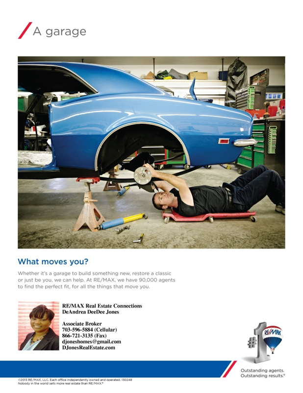 Remax garage what moves you to buy a home