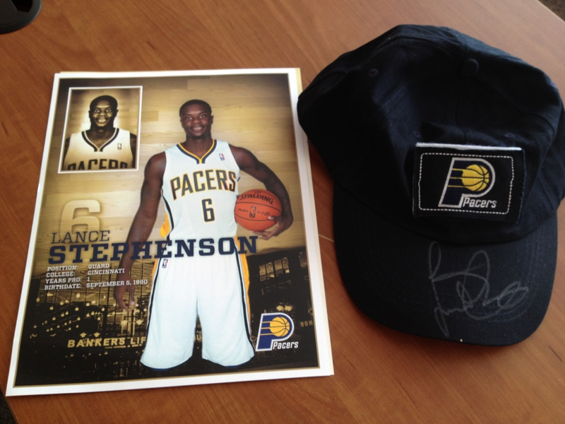 Lance Stephenson Indiana Pacers #6